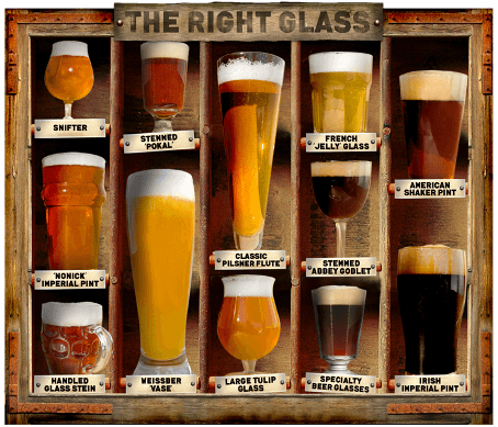 beer glass types