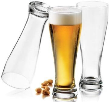 Libbey Giant Pub 22-1-2-Ounce Pilsner Glasses Set of 6