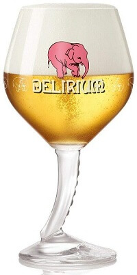 Delirium Signature Trunk Stemmed Chalice Glasses