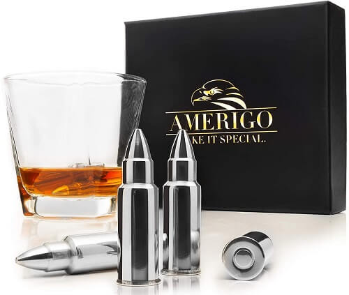 Whiskey Stones Bullets with High Cooling Technology