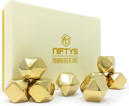 Whiskey Stones Gold Edition Gift Set