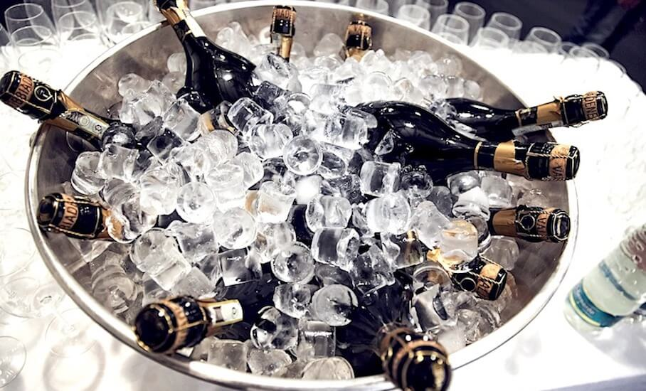 Is Champagne Safe to Drink When Frozen then Thawed