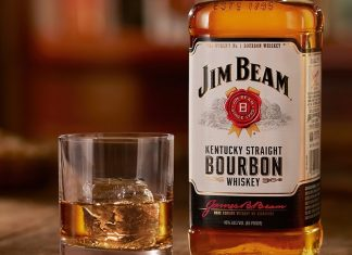 What U.S. State Name is Featured on Labels of Jim Beam Whiskey
